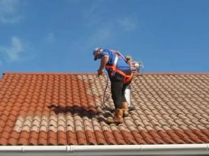 Roof Cleaning | Moss Removal | Biocide Treatment | Roof Sealing | Roof Tile Painting